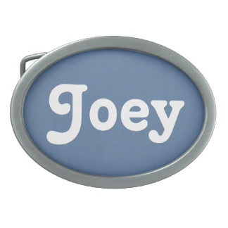 Belt Buckle Joey