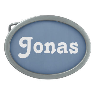 Belt Buckle Jonas