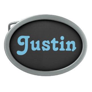 Belt Buckle Justin