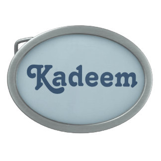 Belt Buckle Kadeem