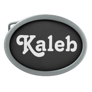 Belt Buckle Kaleb