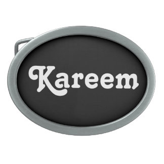 Belt Buckle Kareem