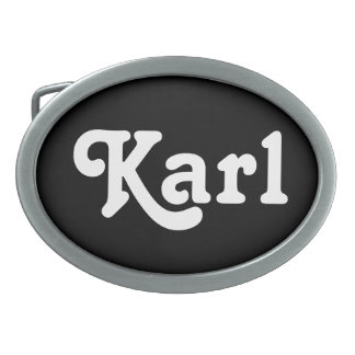 Belt Buckle Karl