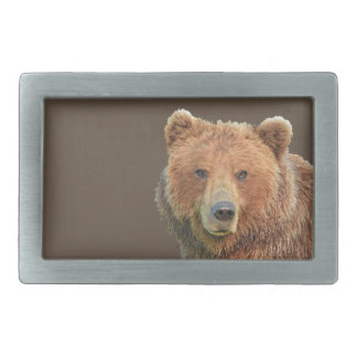 Belt Buckle w/ grizzly bear face