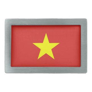 Belt Buckle with Flag of Vietnam