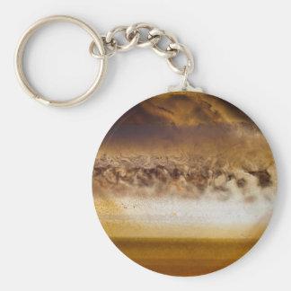 Belt of Jupiter Geode Keychain