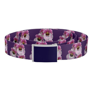 Belt - Pansy Orchid