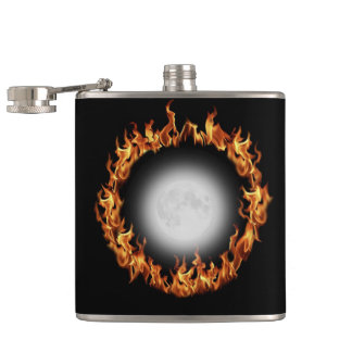 Beltane Fire and Full Moon Flask