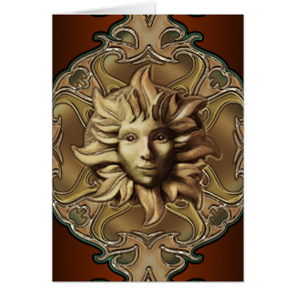 Beltane Sun Sprite Notecard