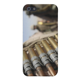 Belts of 50-caliber ammunition cover for iPhone 5/5S