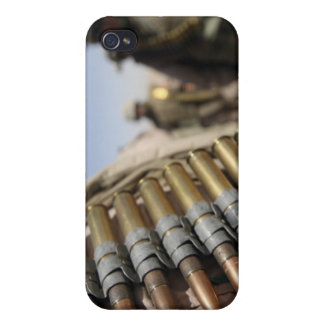 Belts of 50-caliber ammunition iPhone 4 cover