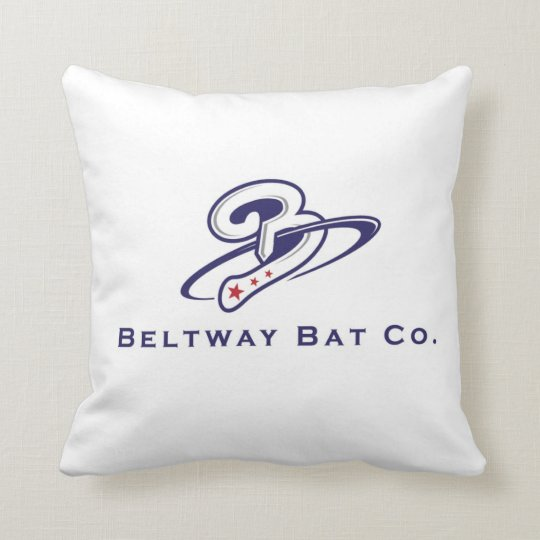 Beltway Bat Company Throw Pillow