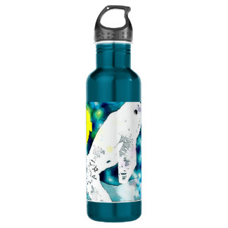 Beluga Whale blue 710 Ml Water Bottle