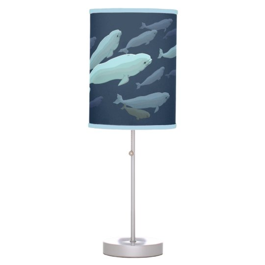 Beluga Whale Lamp Whale Art Lamps Beluga Gifts
