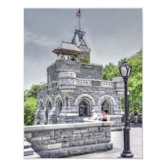 Belvedere Castle in Central Park Art Photo