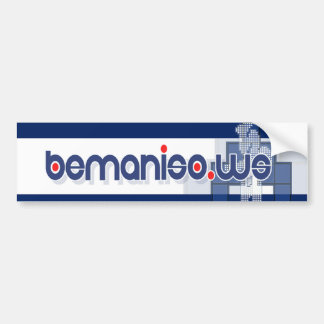 bemaniso stickit - sfkhoa bumper sticker