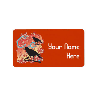 BEMATA_CROW2, Your Name Here Address Label