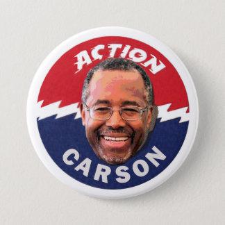 Ben Carson 2016 3 Inch Round Button