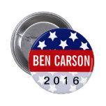 Ben Carson 2016 Political Conservative 2 Inch Round Button
