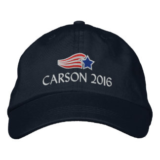 Ben Carson 2016 Political Conservative Embroidered Hats