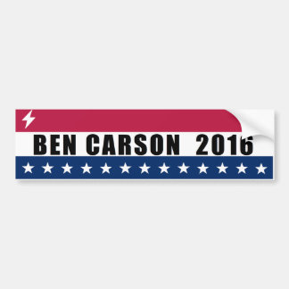 Ben Carson for President 2016 Bumper Sticker