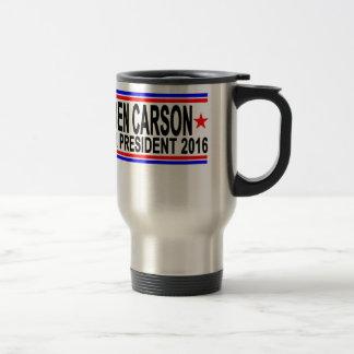 BEN CARSON FOR PRESIDENT 2016 Tee Shirts.png Travel Mug