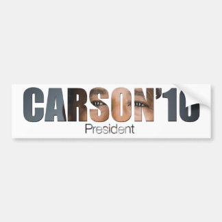 Ben Carson for President Bumper Sticker