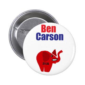 Ben Carson for President Design 2 Inch Round Button
