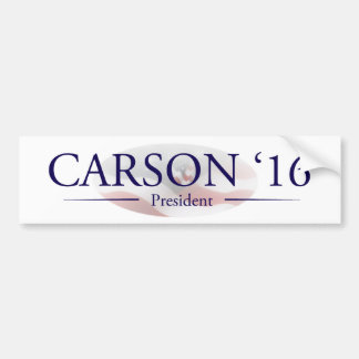 Ben Carson for President Gifts Bumper Sticker