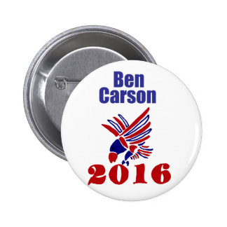 Ben Carson Presidential Political  Art 2 Inch Round Button