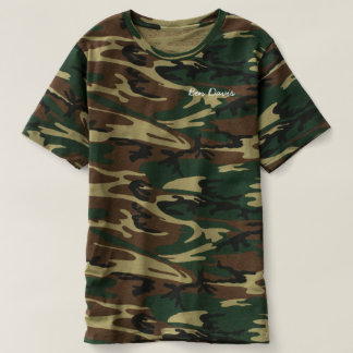 Ben Davis camo T-shirt