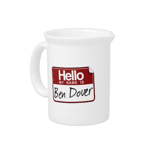 BEN DOVER BEVERAGE PITCHERS