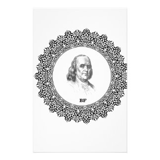 Ben Franklin 1000 Customized Stationery