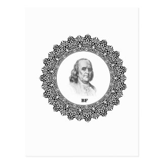 Ben Franklin 1000 Postcard