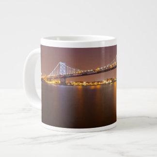 Ben Franklin Bridge Giant Coffee Mug
