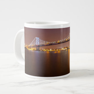 Ben Franklin Bridge Large Coffee Mug
