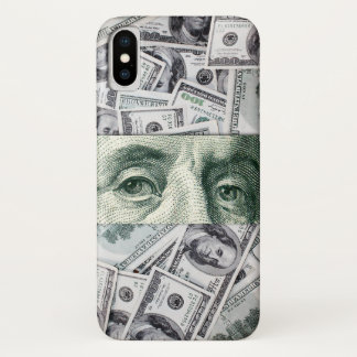 Ben Franklin's Eyes iPhone X Case