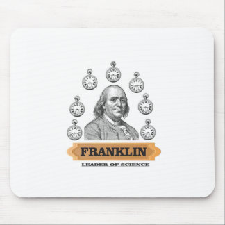 Ben Leader of science Mouse Pad