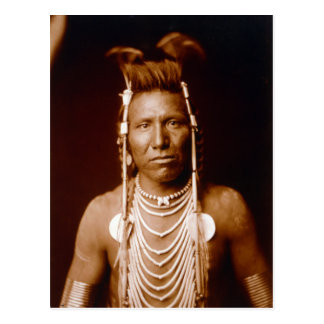 Ben Long Ear (Native American) Postcard