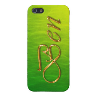 BEN Name Branded iPhone Cover iPhone 5 Cases