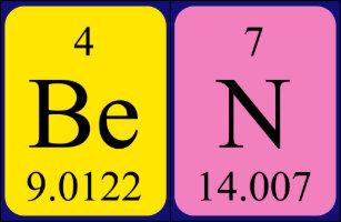 Periodic table coffee travel mugs zazzle ca ben periodic table name mug urtaz Image collections
