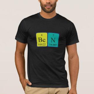 Ben periodic table name shirt