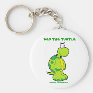 Ben profile pic, BEN THE TURTLE, copyright, Dan... Keychain