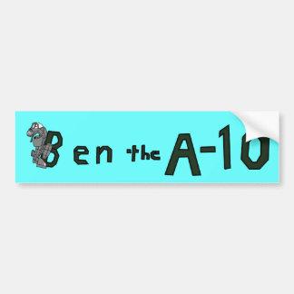 Ben The A-10 Bumper Bumper Sticker