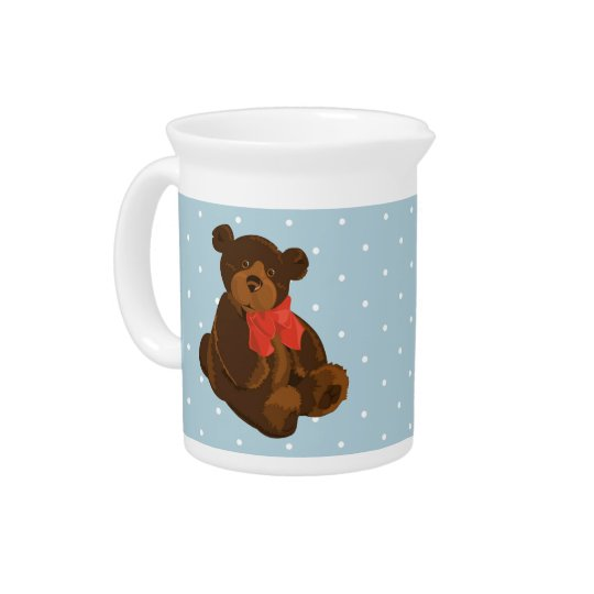 Ben the Bear Beverage Pitchers