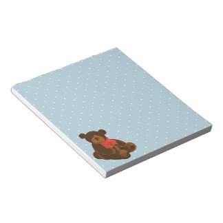 Ben the Bear Notepad