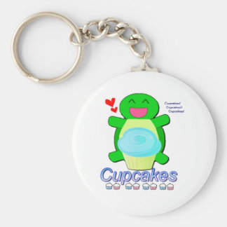 Ben  The Turtle Basic Round Button Keychain