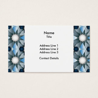 Ben Yusuf Madrasa Geometric Pattern 004 Business Card