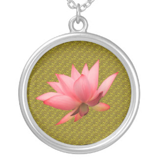 Benah Lotus Sutra Necklace
