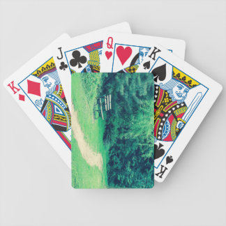 bench crossprocessbench bicycle playing cards